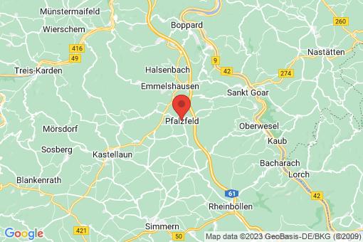Karte Pfalzfeld