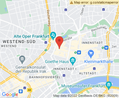 Anfahrt zu Alles Clean 24 Frankfurt am Main - DE-CO