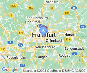 Karte für Jumeirah Frankfurt