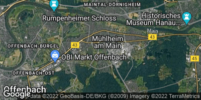 Google Map of Mühlheim