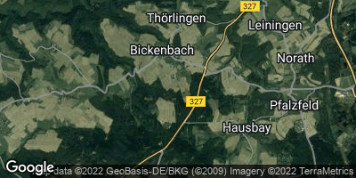 Google Map of Bickenbach
