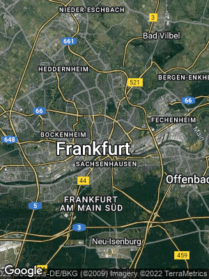 Google Map of Fechenheim
