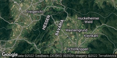 Google Map of Geiselbach