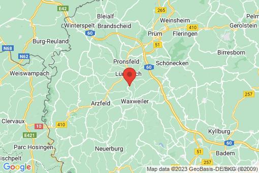 Karte Kinzenburg