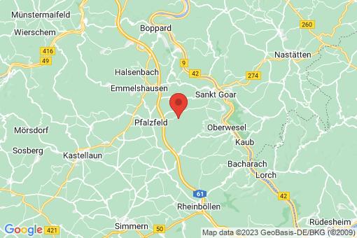 Karte Badenhard