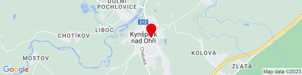 Google Map of 50.11888888888889, 12.533055555555556