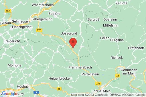 Karte Flörsbachtal
