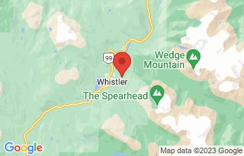 Map of Whistler