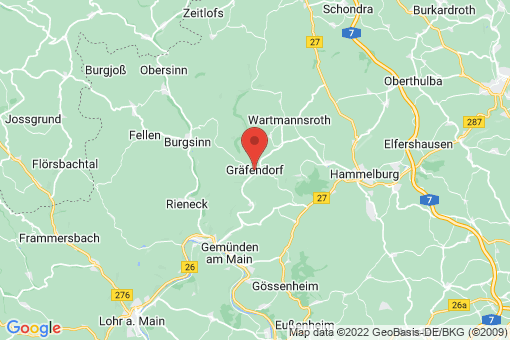 Karte Gräfendorf