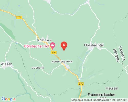 Google Karte von Rohrreinigung Flörsbachtal