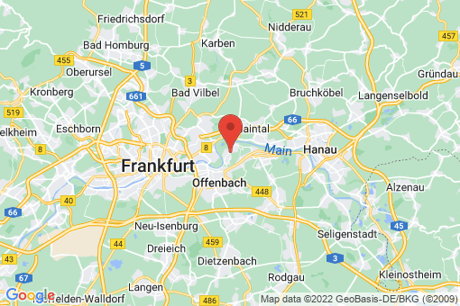 Karte Offenbach