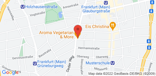 Directions to Aroma Vegetarian & More