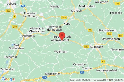 Karte Altenkunstadt