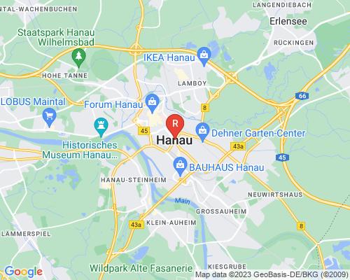 Google Karte von Rohrreinigung Hanau
