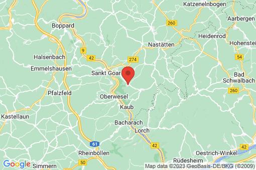 Karte Bornich