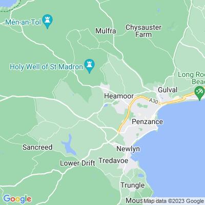 Trengwainton Location