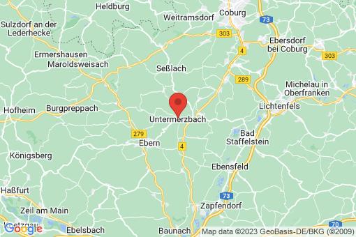 Karte Untermerzbach