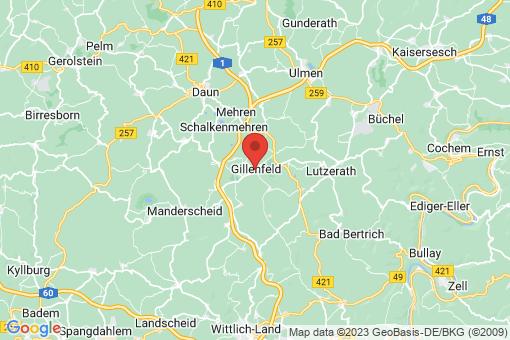 Karte Gillenfeld