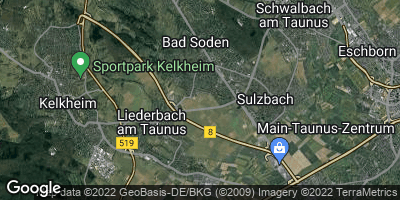 Google Map of Bad Soden am Taunus