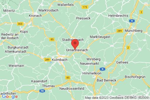 Karte Untersteinach