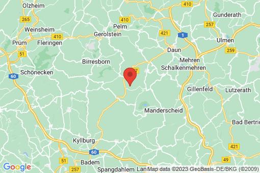 Karte Weidenbach