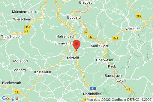 Karte Hungenroth