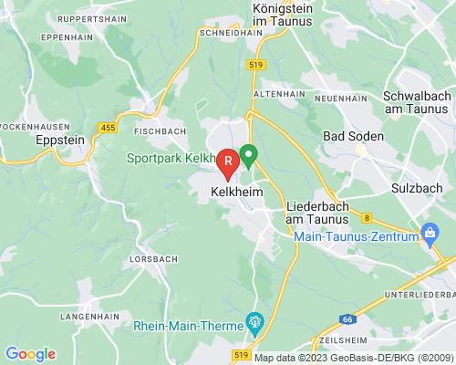 Google Karte von Rohrreinigung Kelkheim
