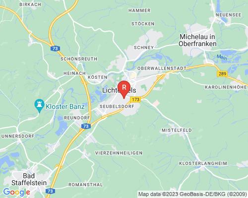 Google Karte von Rohrreinigung Lichtenfels