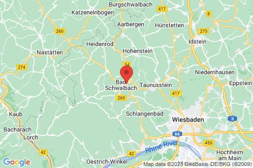 Karte Bad Schwalbach