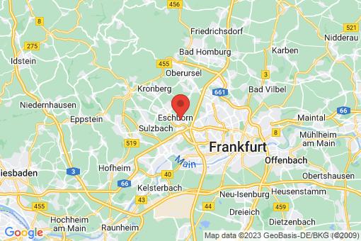 Karte Eschborn