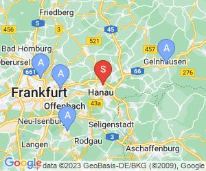 Karte für DAV-Kletterzentrum Hessen - Homburg