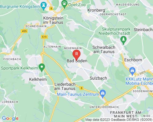 Google Karte von Rohrreinigung Bad Soden am Taunus