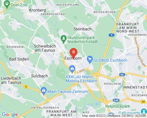 Google Karte von Rohrreinigung Eschborn