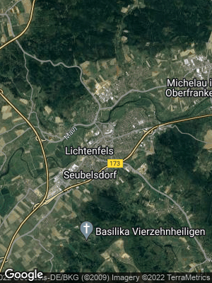Google Map of Lichtenfels