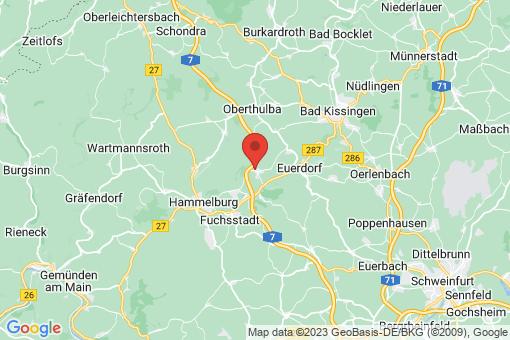 Karte Elfershausen