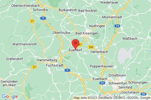 Karte Euerdorf