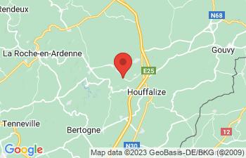 Map of Achouffe houffalize