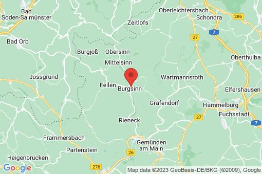 Karte Burgsinn