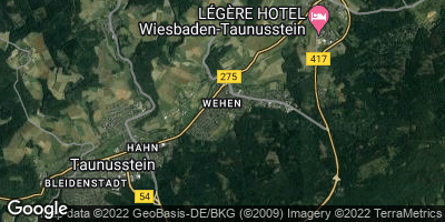 Google Map of Wehen