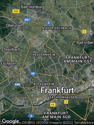 Google Map of Eschersheim