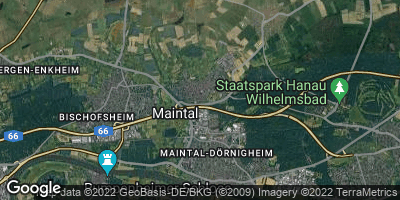 Google Map of Maintal