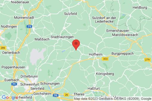 Karte Aidhausen