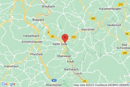 Karte Patersberg