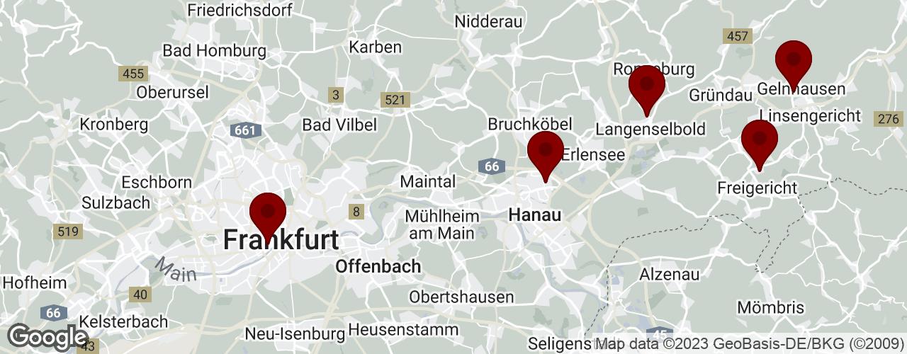 PROKIL Niederlassungen auf Google Maps