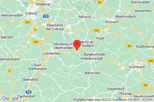Karte Hochstadt am Main