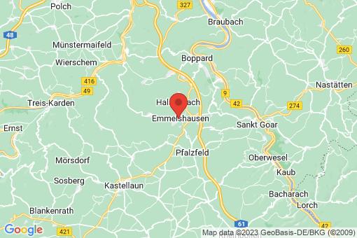 Karte Emmelshausen