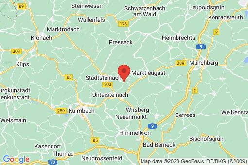 Karte Guttenberg