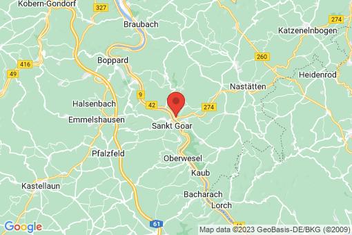 Karte Sankt Goarshausen