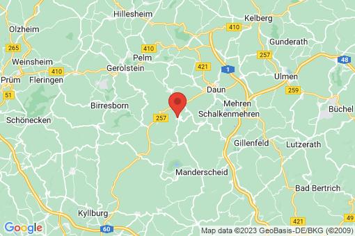Karte Niederstadtfeld
