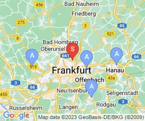 Karte für DAV-Kletteranalge Frankfurt der Sektion Franfurt/M